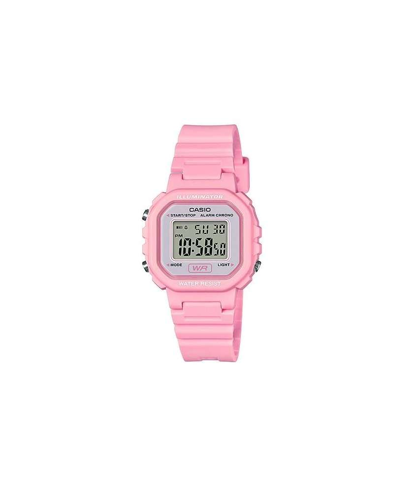 4c7045e26e3c Reloj Casio Collection Niña en color Rosa Digital LA-20WH-4A1EF