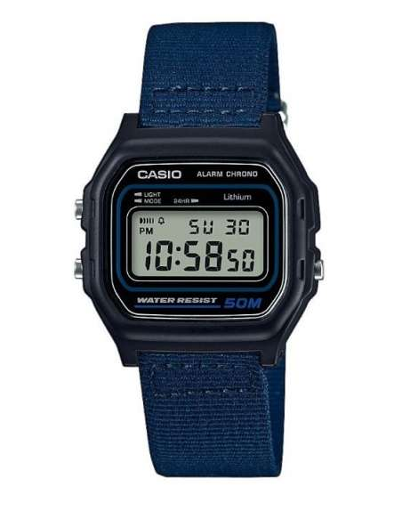 732cdccfb814 Reloj Casio Collection Retro Unisex Azul W-59B-2AVEF