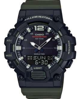 Reloj Hombre Casio Collection Anadigi HDC-700-3AVEF correa verde