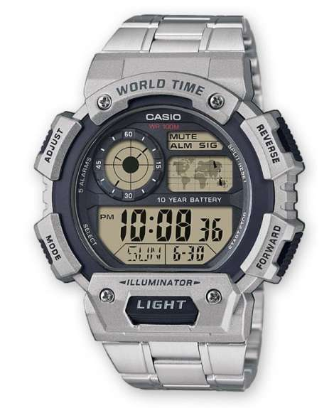 4cdfacd62793 Reloj Casio Collection Digital Caballero AE-1400WHD-1AVEF