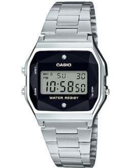 Reloj Casio Collection Retro con Diamantes A158WEAD-1EF