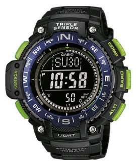 Reloj Casio Collection Digital SGW-1000-2BER Triple sensor