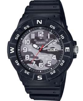 Reloj Casio Collection Analógico de Camuflaje Gris MRW-220HCM-1BVEF