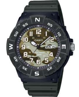 Reloj Casio Collection Analógico de Camuflaje verde MRW-220HCM-3BVEF