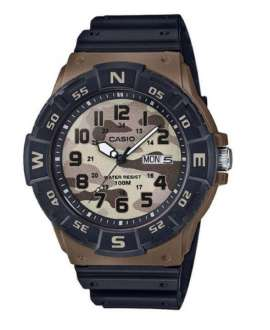 Reloj Casio Collection Analógico de Camuflaje Marrón MRW-220HCM-5BVEF