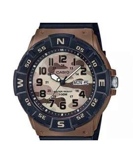 Casio Collection Analógico de Camuflaje Marrón MRW-220HCM-5BVEF