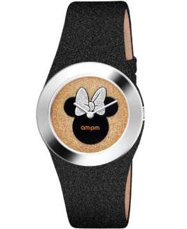 Reloj am:pm Analógico Disney Minnie correa brillos DP151-U320