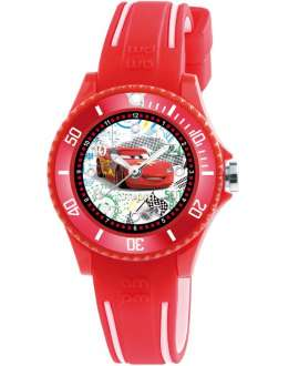 Reloj am:pm Analógico Disney Cars correa de Silicona Roja DP186-K476