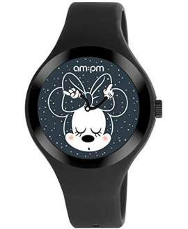 Reloj am:pm Analógico Disney Minnie con correa de Silicona DP155-U527