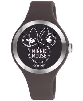 Reloj am:pm Disney Minnie correa de Silicona Marrón DP155-U537