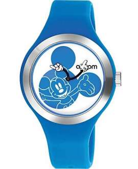 Reloj am:pm Analógico Disney Mickey correa de Silicona Azul DP155-U350