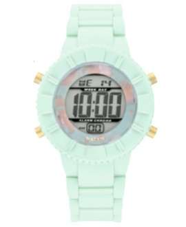 Reloj digital WatxandCo Marble Green de 38 mm