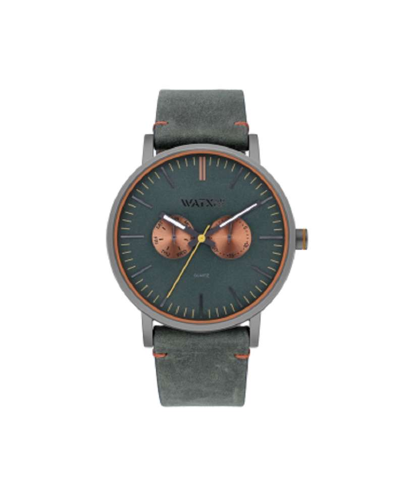 Reloj para hombre Watxandco Metal Splash Green 44 mm WXCA2741/WXCO1716