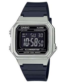 Reloj para hombre digital Casio Collection Negro/Plateado W-217HM-7BVEF-