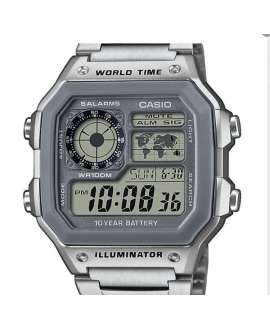 Reloj  Casio Collection AE-1200WHD-7AVEF con brazalete acero