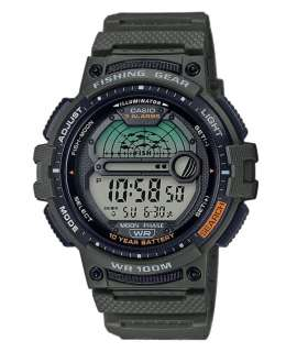 Reloj digital Hombre Casio Collection Sport WS-1200H-3AVEF Verde correa resina
