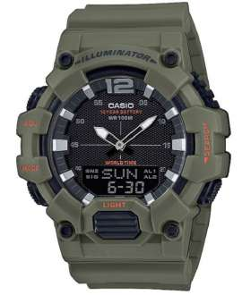 Reloj hombre Casio Collection anadigi HDC-700-3A2VEF Verde