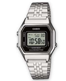 Reloj digital Casio Collection Vintage LA680WEA-1EF Brazalete acero