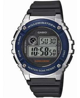 Reloj Caballero Casio Collection Digital W-216H-2AVEF Azul