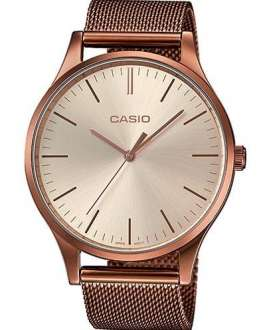 Reloj Casio Collection Acero Rosado LTP-E140R-9AEF